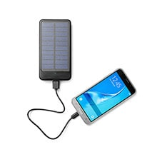 Powerbank + Solar-Ladefunktion