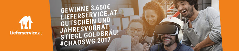 Jetzt mitmachen und 3.650€ Lieferservice.at Gutschein gewinnen