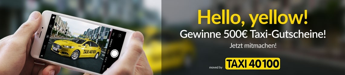 Hello, yellow! - moved by Taxi40100