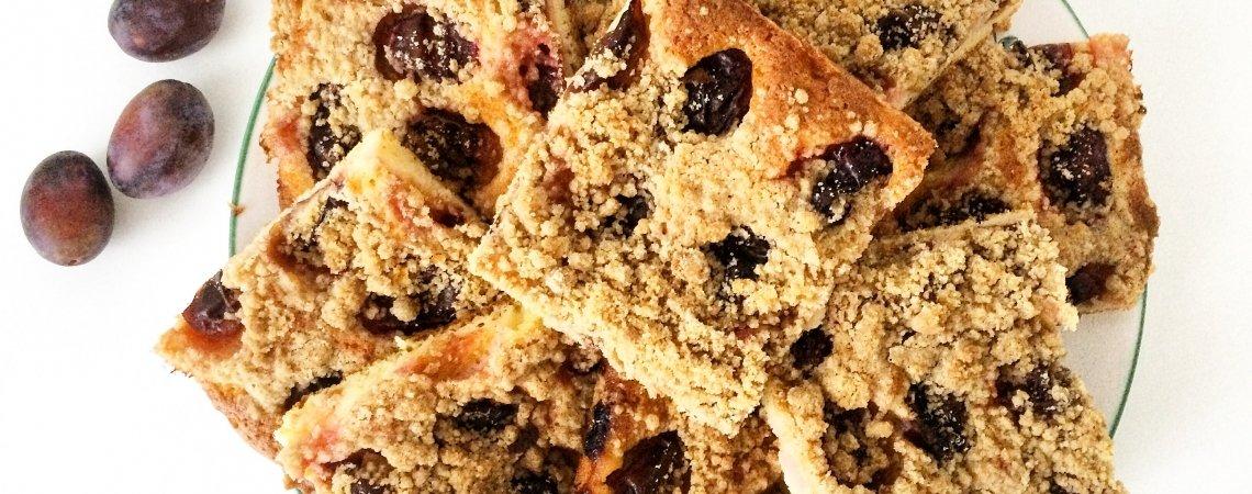 Leckerer Österreichischer Zwetschgen Streusel Kuchen