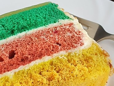 #EatTheRainbow Cake (no added sugar)