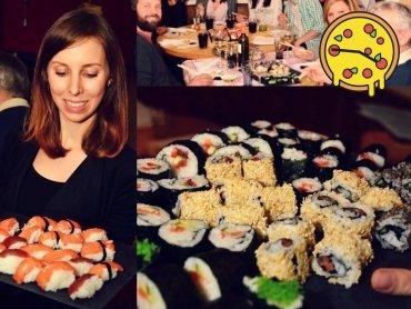 Sushi bringt die Familie zusammen