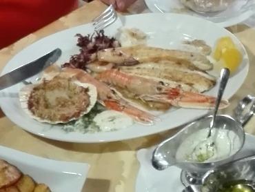 Fisch für Spanien