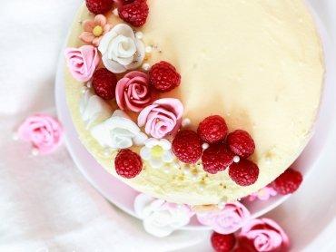 Mädchentraum, Himbeer - Vanille Torte