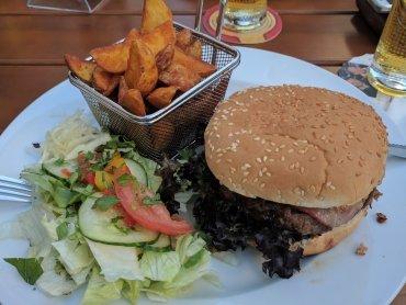 Gratis Burger-Upgrade und Murauer Steirergold 0,33l bei der Hannes
