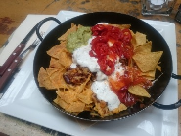 Chili-Nachos für Mexiko