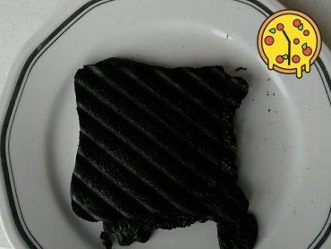 Der Moment, wenn du dein Toast im Toaster vergisst... #MitLieferserviceATWäreDerRauchmelderNichtLosgangen