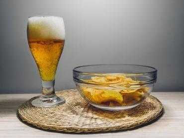 Meine Art die WM zu feiern: Bier & Chips :-)