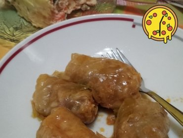 Sarmale + Salata Boeuf (ACHTUNG SEHR LECKER) - Guten Appetit! :)