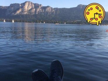 Devise: Entspannen am See mit Lieferservice.at