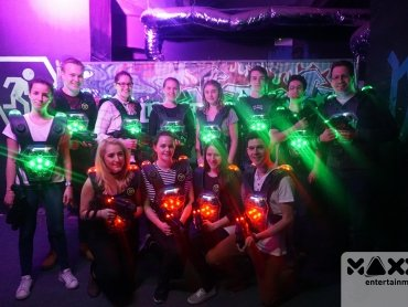 MAXX Entertainment: 25% Gutschein auf Lasertag bei MAXX Entertainment