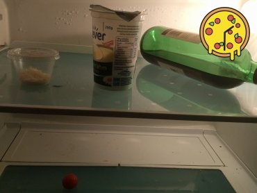 Kühlschrank leer :-(