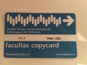 Facultas Copycard
