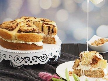Schoko-Zimt-Schneckenkuchen
