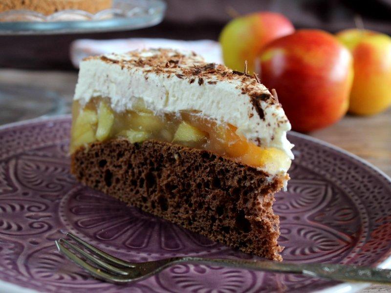 Quot Herrlich Winterliche Torte Mit Apfel Zimt Und Lebkuchen Quot