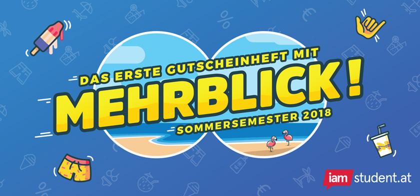 iamstudent Gutscheine zum Sommersemester 2018 in Wien
