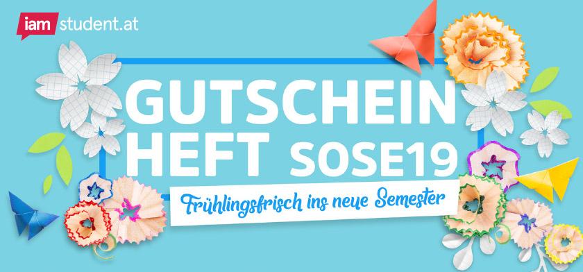 iamstudent.at Gutscheinheft SoSe19