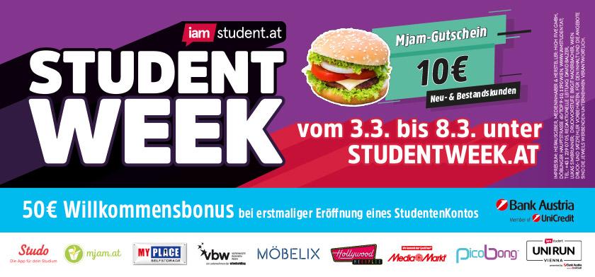 iamstudent.at Student Week SoSe19