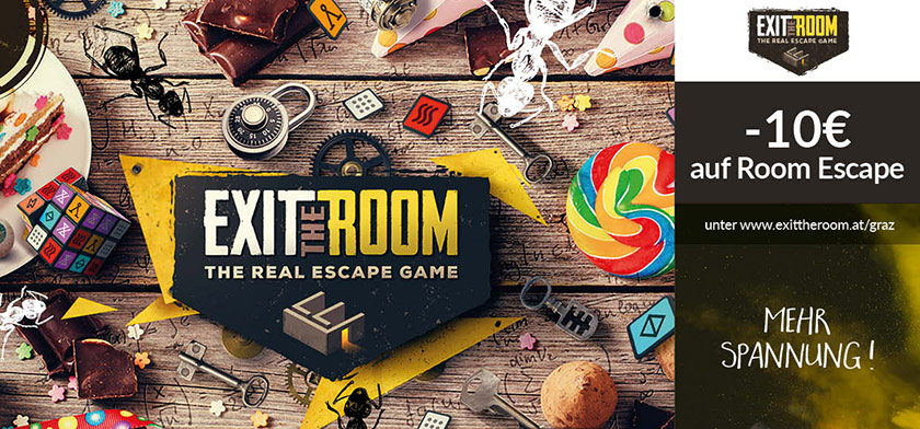 -10€ auf Room Escape