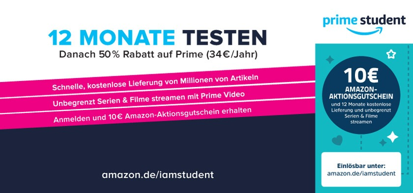 10€ Amazon Aktionsgutschein