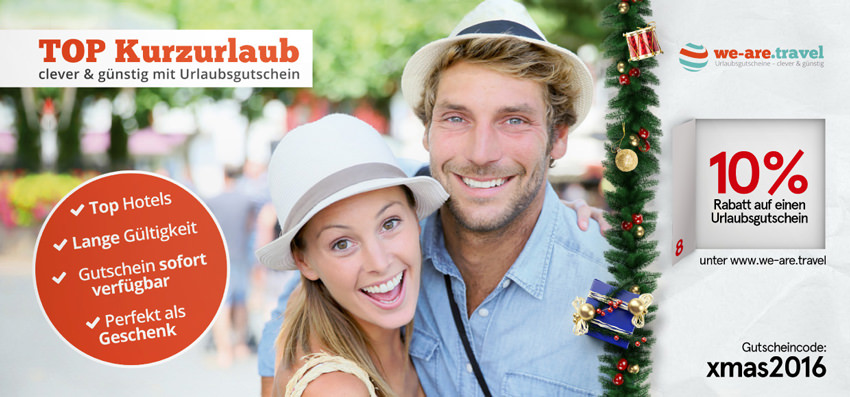 -10% bei we-are.travel