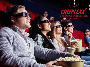 4x1 Cineplexx Gutschein im Wert von € 25,-