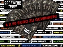 4x 50€ Gutschein beim Sägewerk Wien zu gewinnen