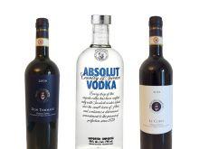 2 Flaschen Rotwein 1 Flasche Absolut Vodka
