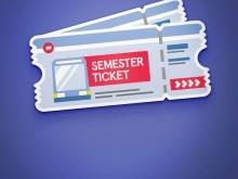 4x1 Semesterticket für das SoSe17!