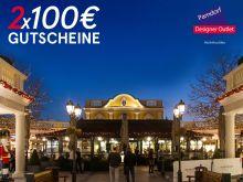 2x100€ Parndorf Gutscheine
