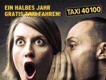 Gratis Taxi fahren für 6 Monate!