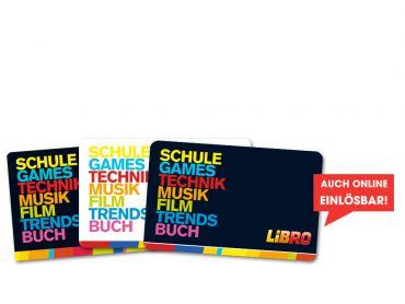 2x 50€ Libro Gutschein!