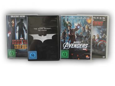 Batman, Ironman und Avengers Collection