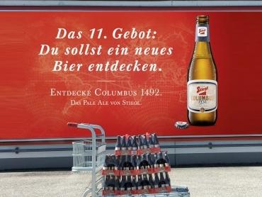 Gewinne 10 Trays Stiegl-Columbus!