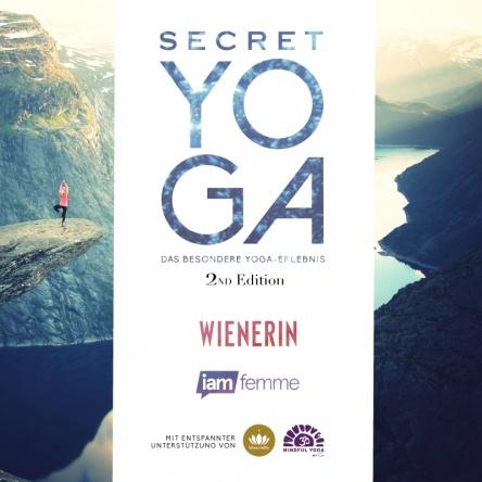 10x2 Tickets für Secret Yoga 2nd Edition