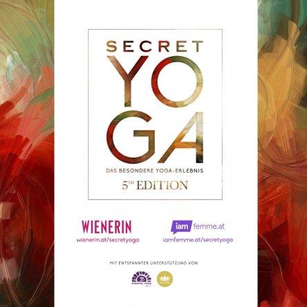 10x2 Tickets für Secret Yoga 5th Edition