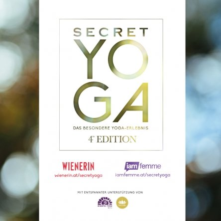 10x2 Tickets für Secret Yoga 4th Edition