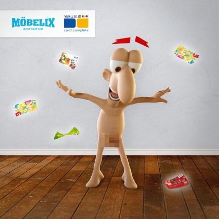 4.500€ von Möbelix & card complete!