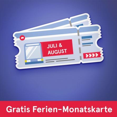 Gratis Ferien-Monatskarte für Wien