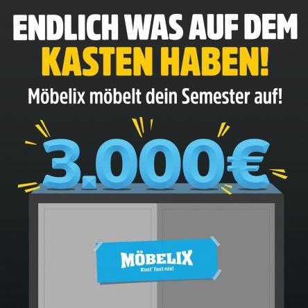 Gewinne 3x1000€ zum Start des SoSe18!