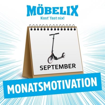 Gewinne 3x1 Scooter von Möbelix!
