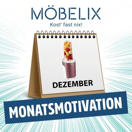 Gewinne 3x1 Smoothie Maker von Möbelix!