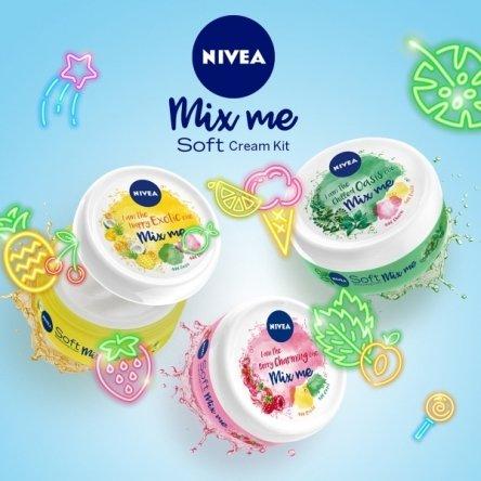 30x ein NIVEA Soft Mix Me Bundle zum Selbermischen
