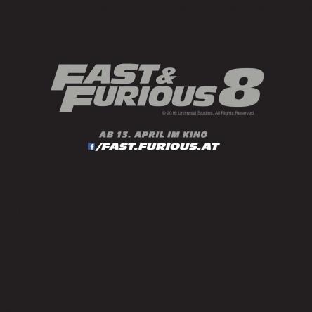 5x1 FAST & FURIOUS 8 Fanpackage