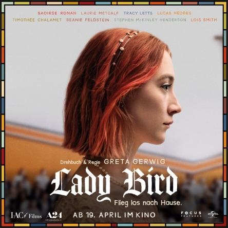 Gewinne Kinotickets für LADY BIRD
