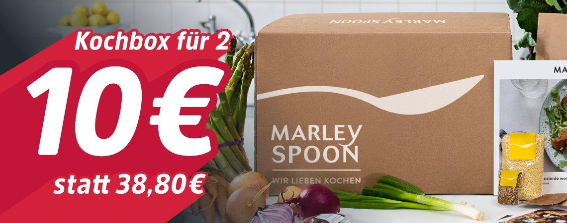 Kochbox um 10€ statt 38,80€