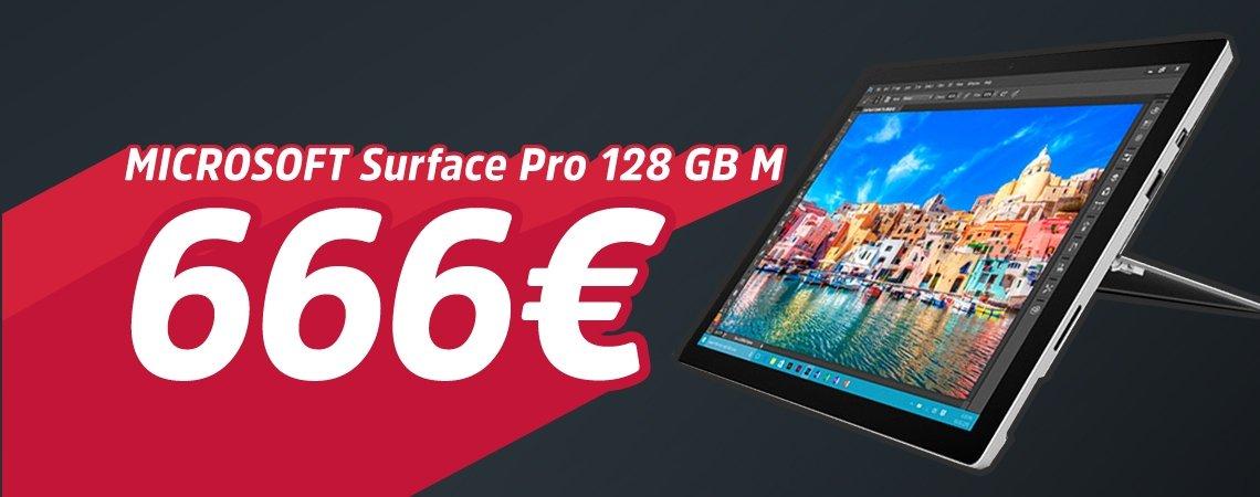 Microsoft Surface Pro um 666€