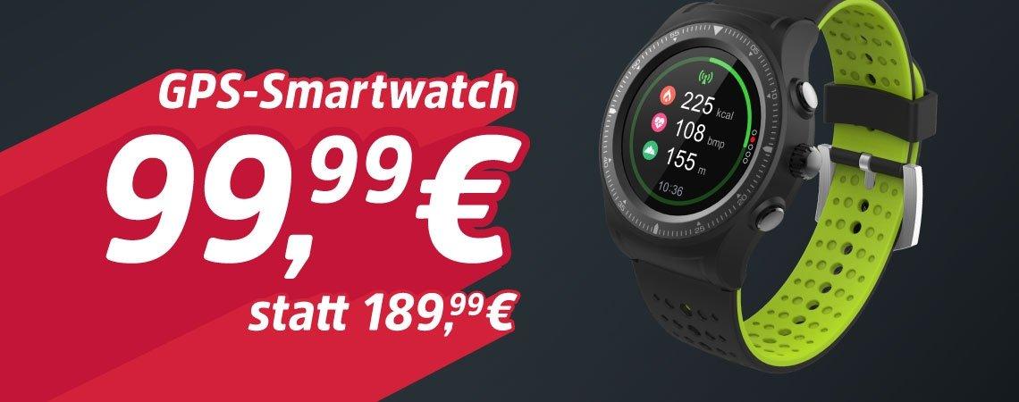 -47% auf GPS-Smartwatch