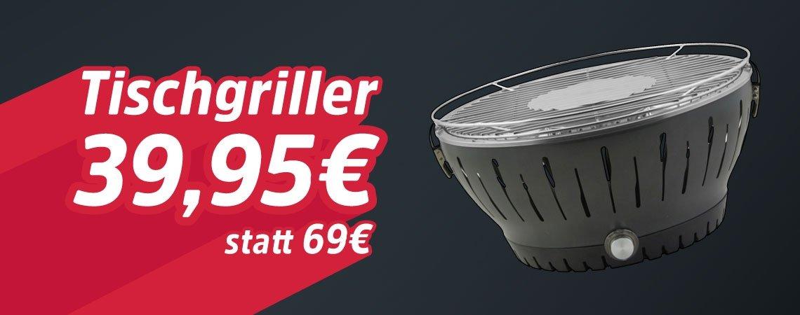 29€ Rabatt auf Tischgriller