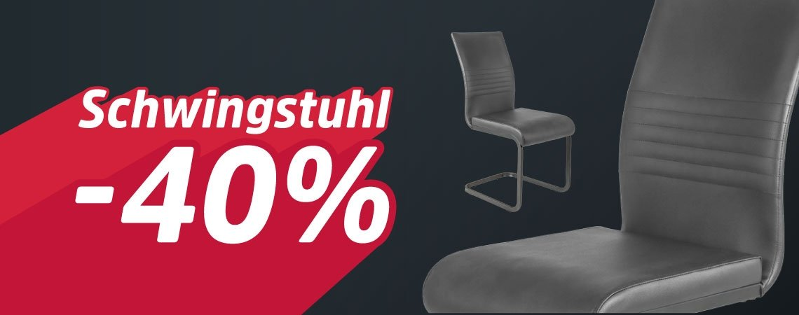 40% Rabatt auf Schwingstuhl